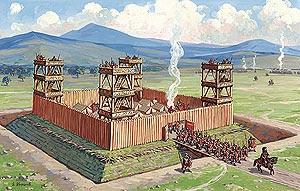 Fort Lugulovia nr Tescos just off the M6 @ Carlisle