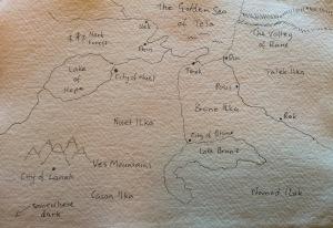 Map of North Mystor